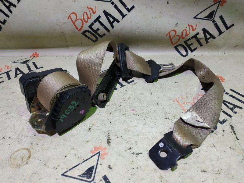 Ремень безопасности Bmw X5 E53 M54B30 2002 задний правый