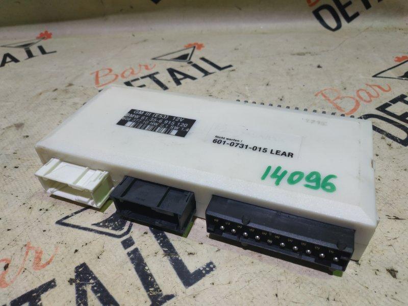 Блок управления комфорта Bmw X5 E53 M54B30 2002