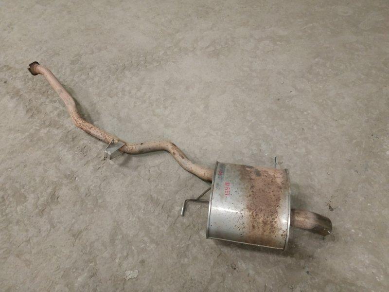 Глушитель (выхлопной тракт) Bmw X5 E53 M54B30 2002 левый