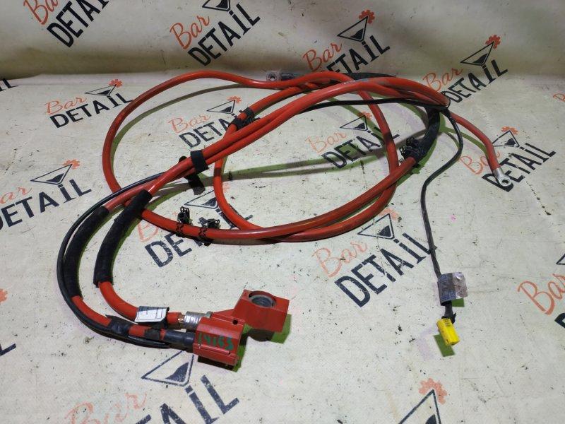 Провод аккумулятора плюсовой Bmw X5 E53 M54B30 2002
