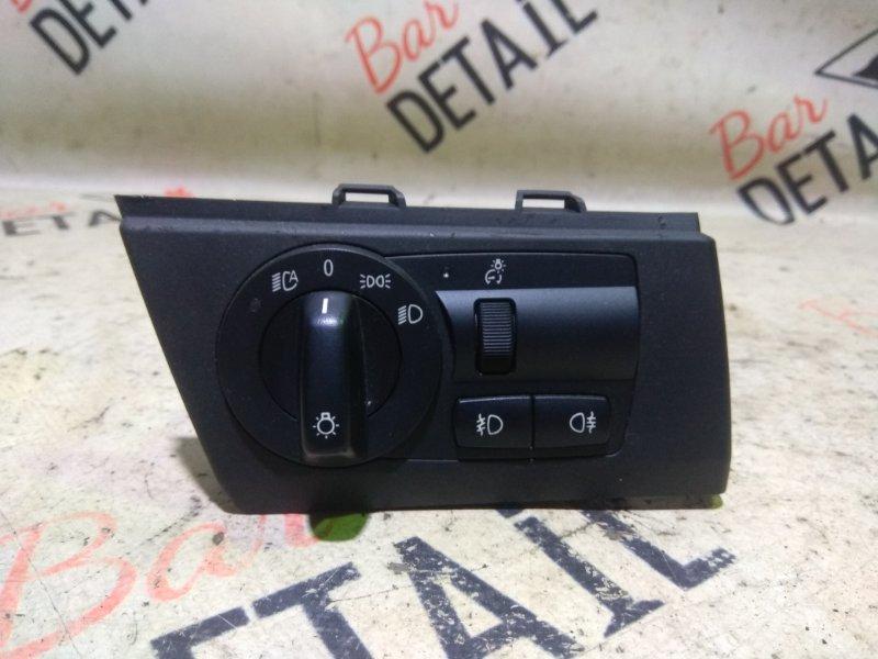 Переключатель света фар Bmw X3 E83 N52B30K 2007 передний