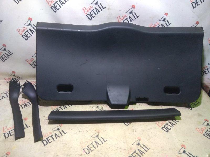 Обшивка крышки багажника Bmw X3 E83 N52B30K 2007 задняя
