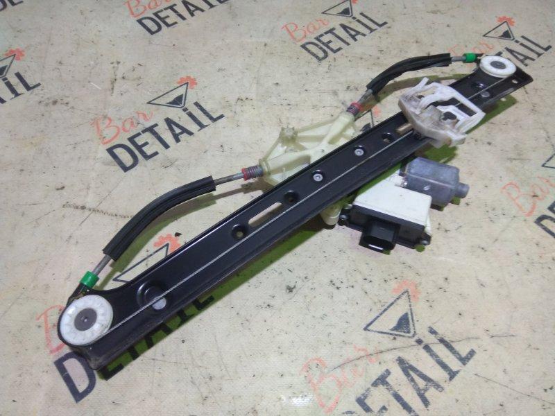Стеклоподъемник Bmw X3 E83 N52B30K 2007 задний левый