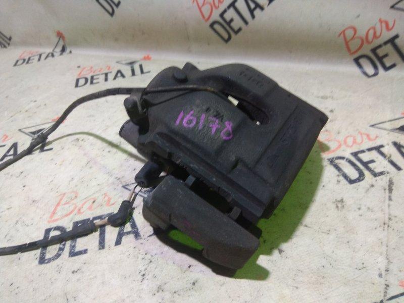 Суппорт тормозной Bmw X3 E83 N52B30K 2007 передний левый