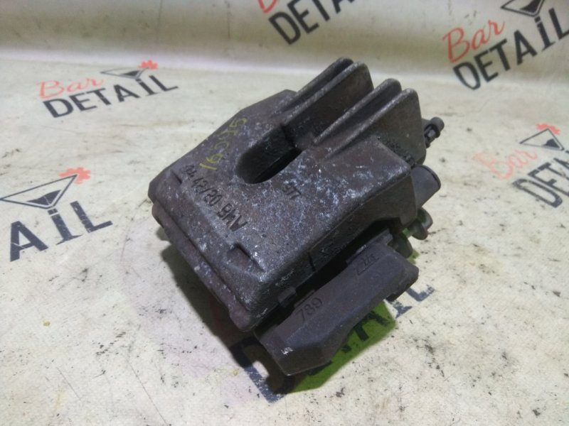 Суппорт тормозной Bmw 5 Серия E60 N52B25 2007 задний левый