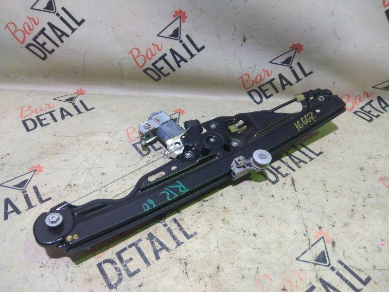 Стеклоподъемник Bmw 5 Серия E60 N52B25 2007 задний правый