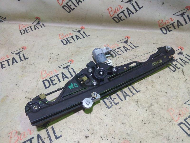 Стеклоподъемник Bmw 5 Серия E60 N52B25 2007 задний левый