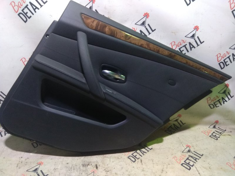 Обшивка двери Bmw 5 Серия E60 N52B25 2007 задняя правая