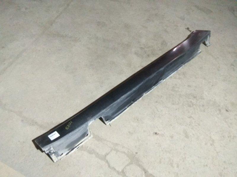 Порог пластиковый Bmw 5 Серия E60 N52B25 2007 левый