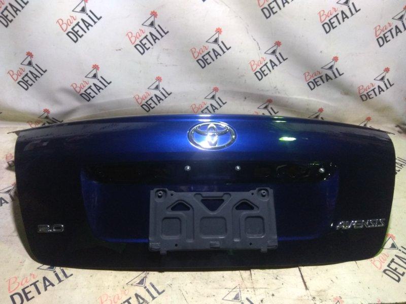Крышка багажника Toyota Avensis AZT250 1AZFSE 2007 задняя