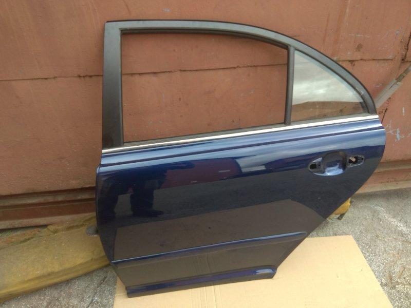 Дверь Toyota Avensis AZT250 1AZFSE 2007 задняя левая