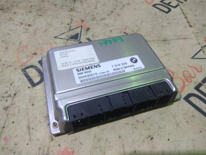 Блок управления двс Bmw 5 Серия E39 M54B25 2001