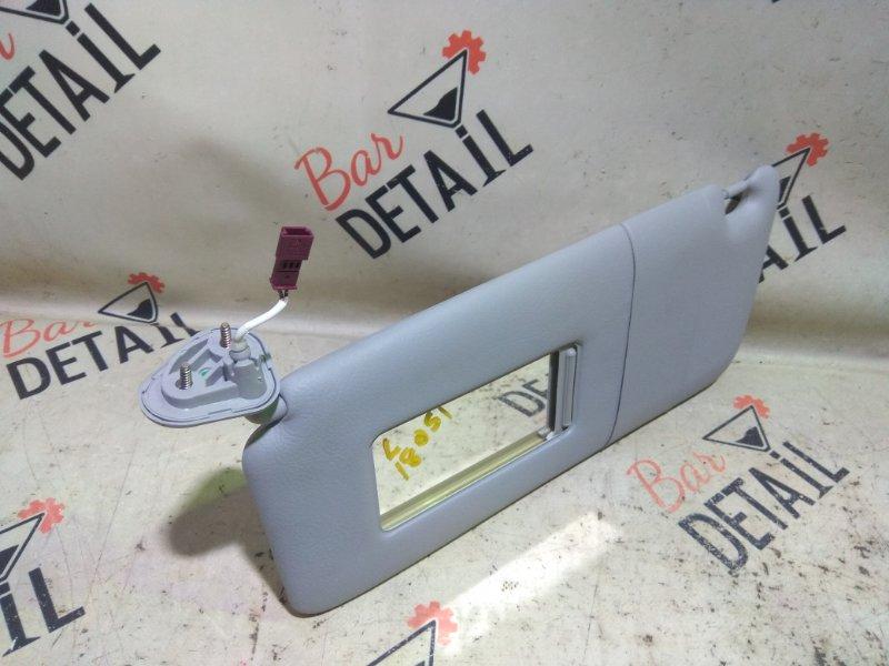 Козырек солнцезащитный Bmw 5 Серия E39 M54B25 2001 передний левый