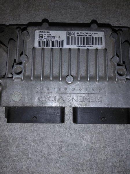 Блок управления акпп Citroen C4 TU5JP4 1999