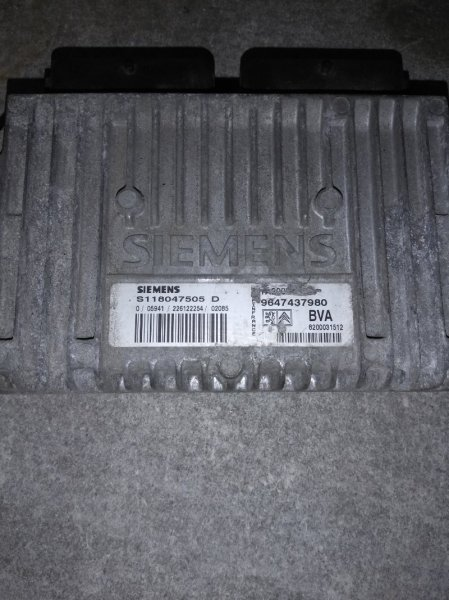 Блок управления акпп Citroen C4 1999
