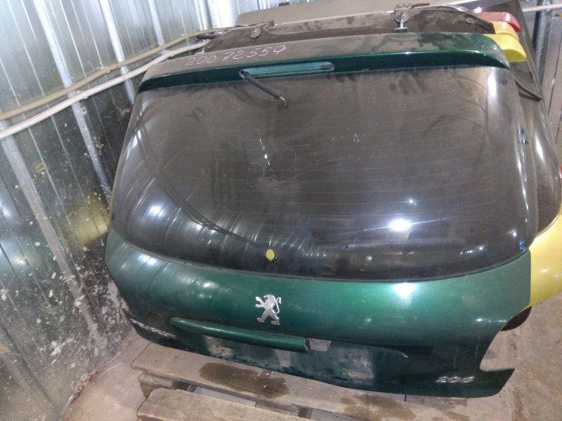 Крышка багажника Peugeot 206 2A/C TU3JP 1999 задняя