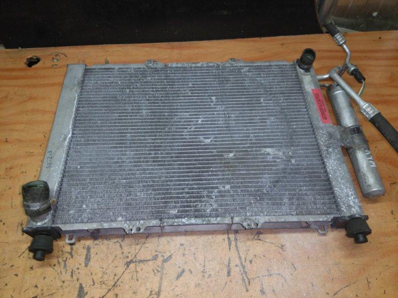 Радиатор охлаждения Renault Kangoo 2001-2009