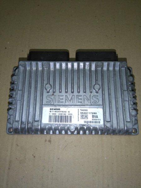 Блок управления акпп Renault 206 2A/C DV4TD 1998
