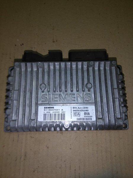 Блок управления акпп Citroen C2 TU5JP4 1999