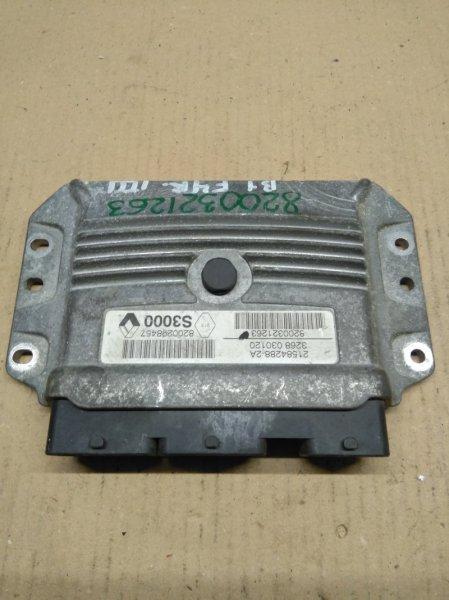 Блок управления двигателем Renault Megane F4R 2002