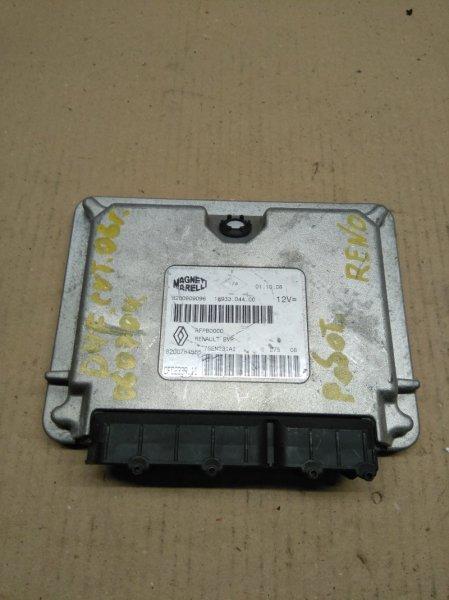 Блок управления двигателем Renault Modus D4F 2009