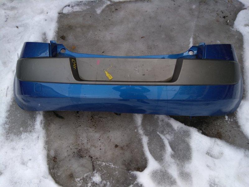 Бампер. Renault Megane BM K4M813 2008 задний