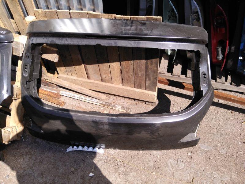 Крышка багажника Peugeot 3008 SUV EP6 2009 задняя