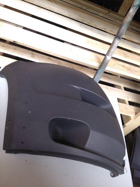 Накладка на бампер (молдинг) Citroen Jumper 2006 правая