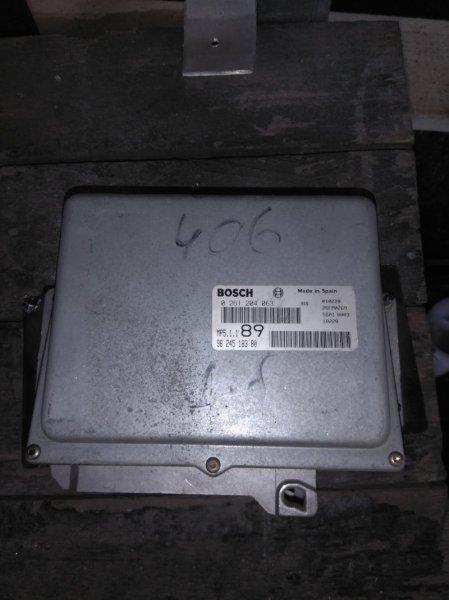 Блок управления двигателем Peugeot 406 8B 1.8 1995