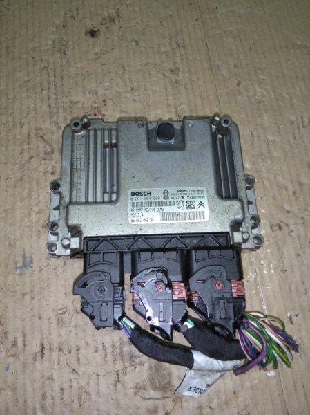 Блок управления двигателем Citroen C4 Picasso 1 UD EP6 2009
