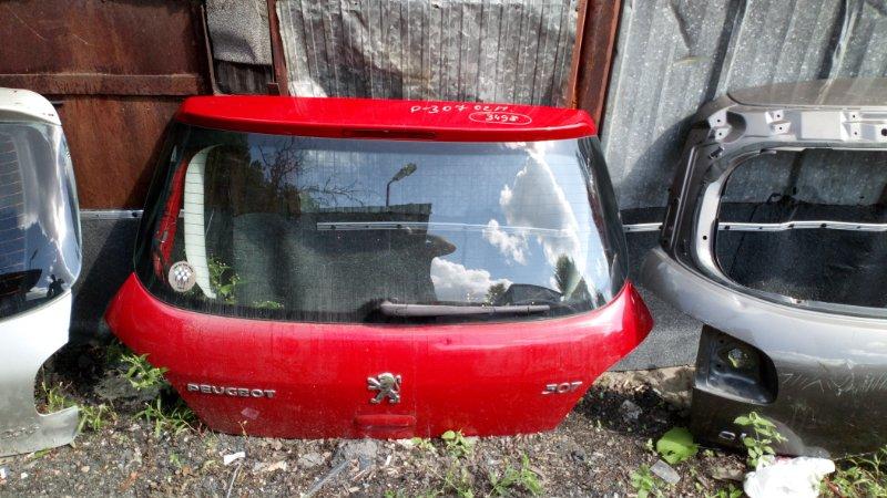 Крышка багажника Peugeot 307 3A/C TU5JP4 2002