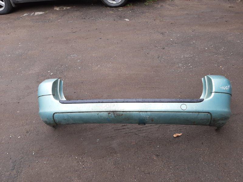 Бампер. Peugeot 307 SW DW10ATED 2003 задний