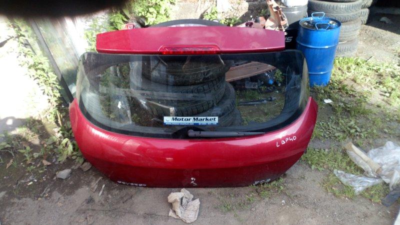 Крышка багажника Peugeot 308 4A/C EP6 2009