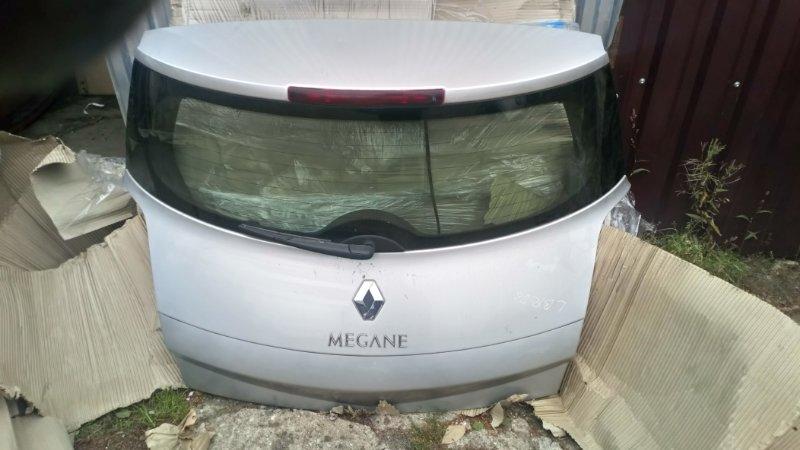 Крышка багажника Renault Megane 2 BM K4M813 2008