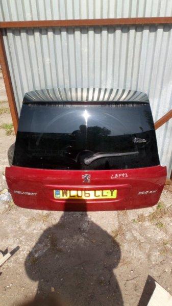 Крышка багажника Peugeot 206 SW 8HX DV4TD 2006