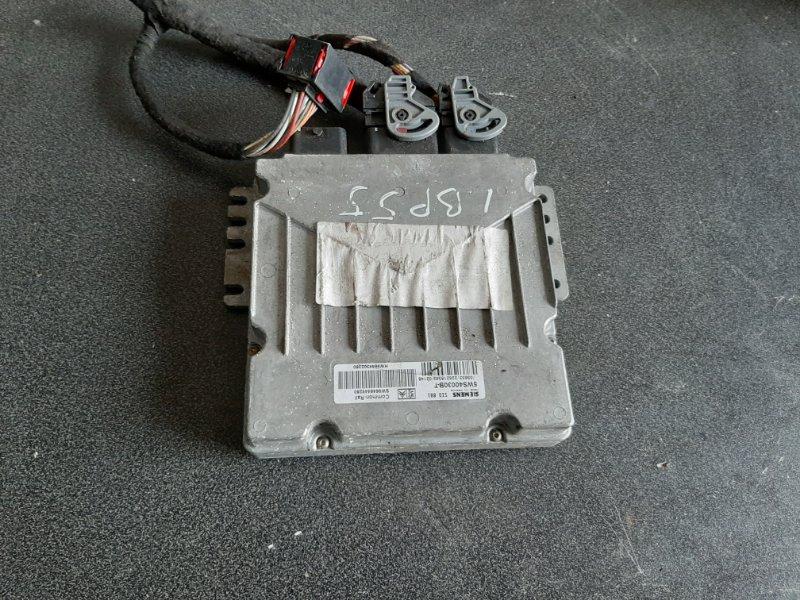 Блок управления Peugeot 307 3A/C DW10TD 2002