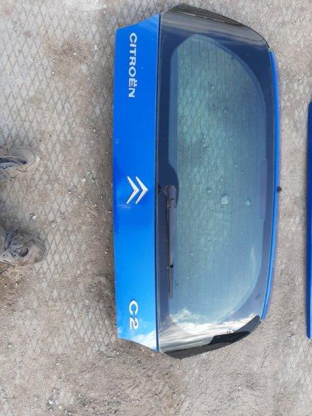 Крышка багажника Citroen C2 JM TU1JP 2004