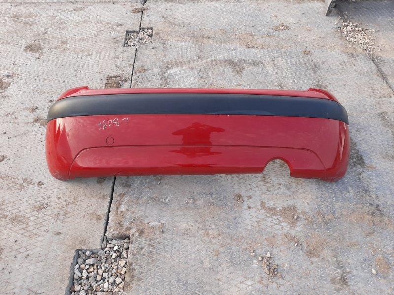 Бампер. Citroen C3 F TU1JP 2007 задний