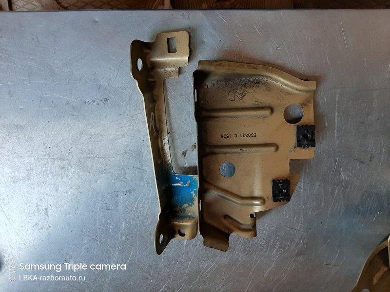 Кронштейн крепления крыла Citroen C4 Picasso 1 UD EP6 2009 правый