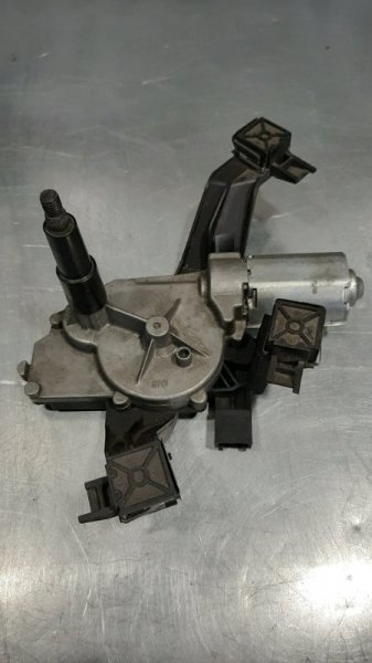 Моторчик стеклоочистителя (насос стеклоочистителя) Peugeot 207 WA_ TU3JP 2007 задний