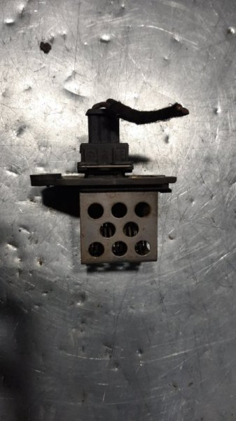 Резистор температуры Peugeot 206 SW 8HX DV4TD 2006