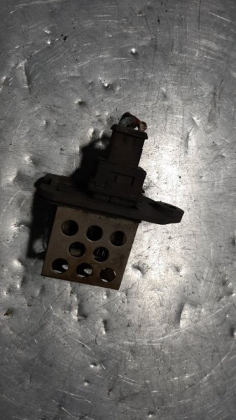 Резистор температуры Peugeot 206 CC EW10J4 2002