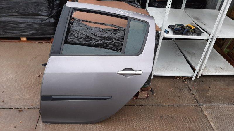 Дверь Renault Clio 3 BR0/1_ D4F784 2008 задняя левая