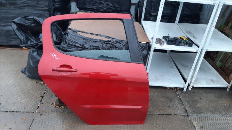 Дверь Peugeot 308 4A/C EP3 2010 задняя правая