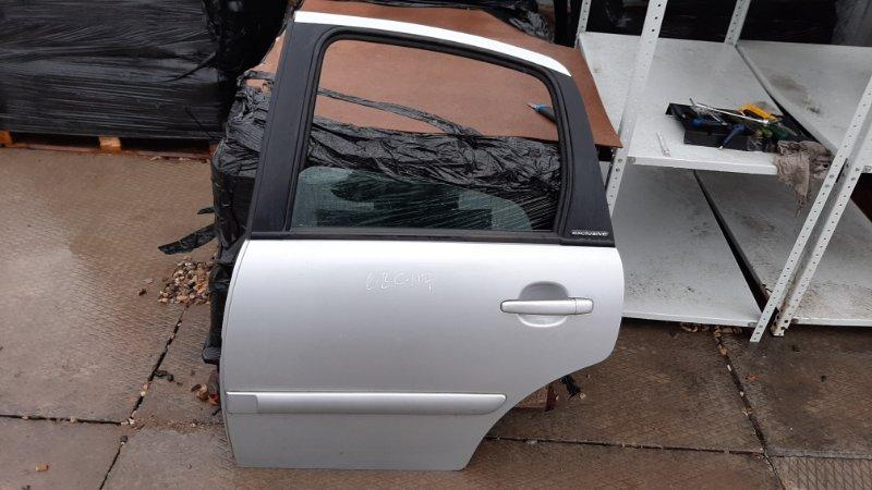Дверь Citroen C3 F DV4TED4 2004 задняя левая
