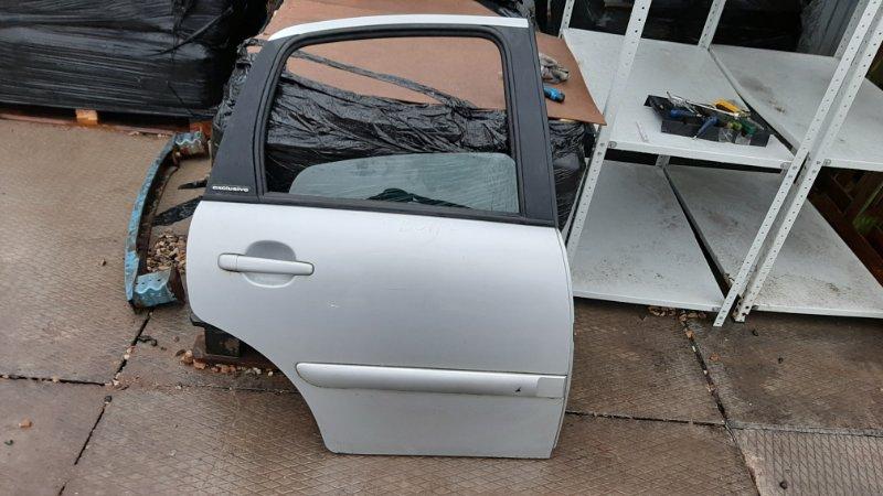 Дверь Citroen C3 F DV4TED4 2004 задняя правая