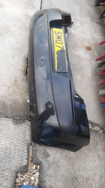 Бампер. Renault Megane 2 BM K4J740 2007 задний
