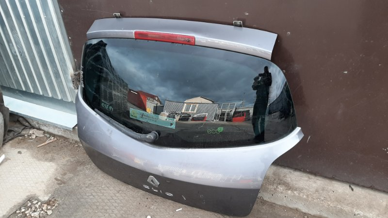 Крышка багажника Renault Clio 3 BR0/1_ D4F784 2008