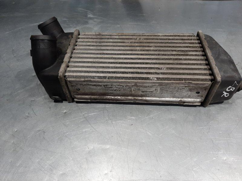 Радиатор интеркулера (интеркулер) Renault Megane 2 BM K4J740 2007