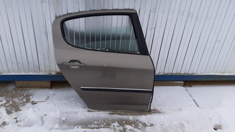 Дверь Peugeot 407 6D DW10BTED4 2005 задняя правая